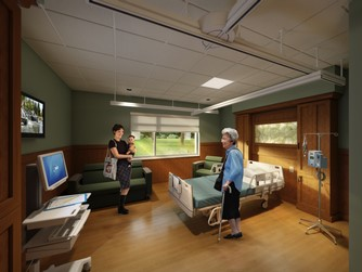 Barron patient room