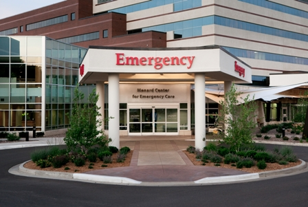 Emergency Department at Mayo Clinic Health System in Eau Claire, Wis.