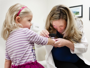 Dermatology professionals provide skin checks for all ages.