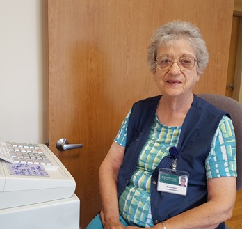 Esther Swan finds purpose in retirement by volunteering.
