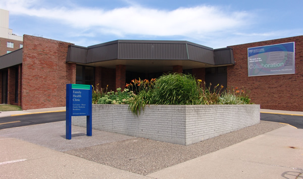 Family Health Clinic Entrance