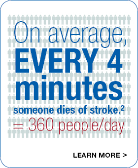 Every four minutes someone dies of stroke on average