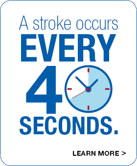 Stroke Occurs Every 40 Seconds