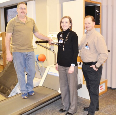 Tim Eversman of Zumbro Falls, Minn. made strides to improve his heart after health two surprising diagnoses. His nurse practitioner, Kayla Dascher, and physical therapist, Steve Johnson, helped him get back on the road to recovery.