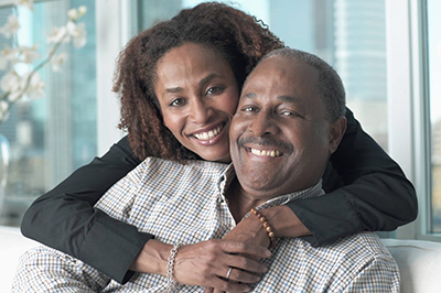 african-american-couple-smiling