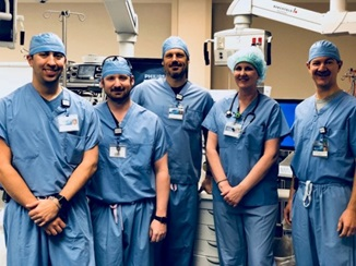 Anesthesia team in Red Wing