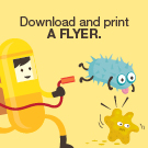 Download and print a handwashing flyer.