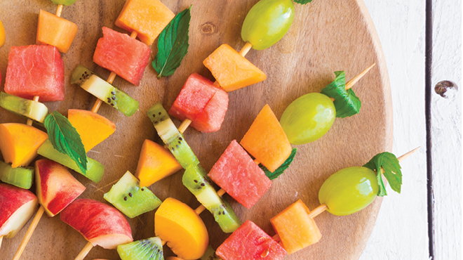 Fruit kabobs