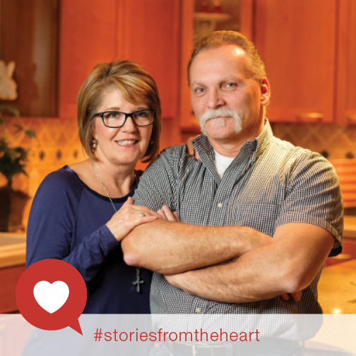 Minimally invasive procedure helps Mike Sandor's heart keep the beat.