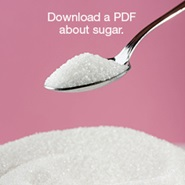 Download a PDF about sugar.