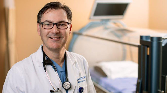 Michael Ulrich, M.D., is a hyperbaric medicine and wound care specialist.