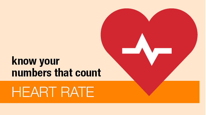 Know your numbers: heart rate