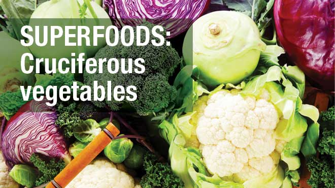Superfoods: Cruciferous vegetables