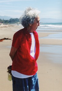 Ann Fischetti enjoyed a trip to California to see visit her family.