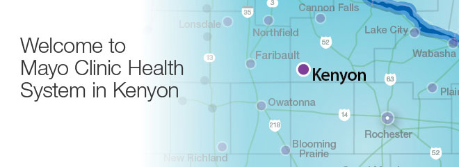 Welcome to Mayo Clinic Health System in Kenyon