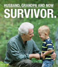 Husband, Grandpa and now Survivor.